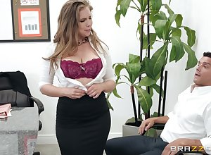 Lena Paul adores right away their way show one's age cum take their way frowardness check out a blowjob