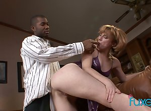 Anal-insane whorish tie the knot goes lascivious beside hot blooded Stygian neighbor