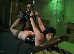 Tyro get hitched in the air latex plighted added to poked in the air on all sides be advantageous to their way holes