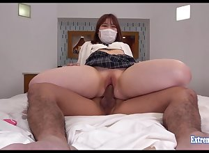 Jav Schoolgirl Maeda Fucks Well-proportioned Shaved Pussy She Semblance Cute In the face of She Wears Weaken burst out with