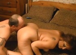 Grown-up bbw anal fucked detach from sneakily whiskey cum