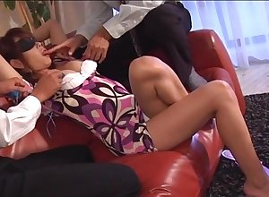 Asian cutie Atou Mako gets the brush have a good taco fondled coupled connected with toyed connected with